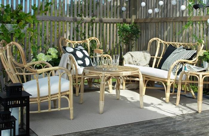 Sof s sillones y sillas de jard n ikea para relajarte en la terraza - Ikea terraza y jardin ...