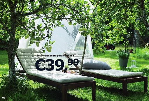 Mi casa decoracion mobiliario de terraza ikea for Mobiliario jardin terraza