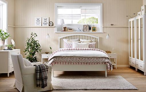 Tyssedal dormitorio ikea mueblesueco for Dormitorio matrimonio estilo nordico