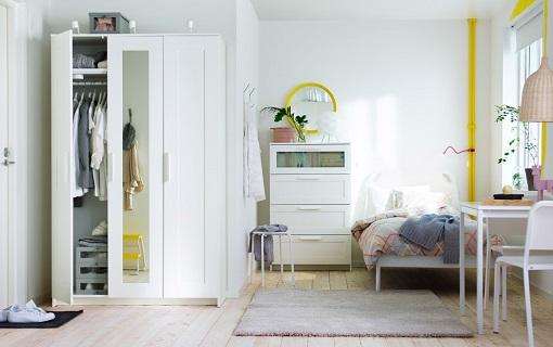 Kleiderschrank Von Ikea Gebraucht ~ Más ideas para decorar un dormitorio juvenil Ikea práctico y moderno