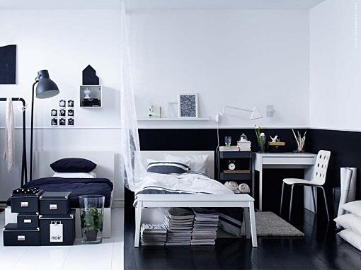 dormitorio juevnil Ikea compartido