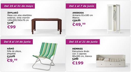ofertas semanales ikea junio 2015