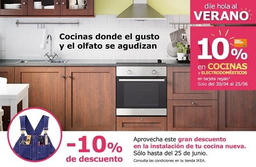 promoción ikea cocinas