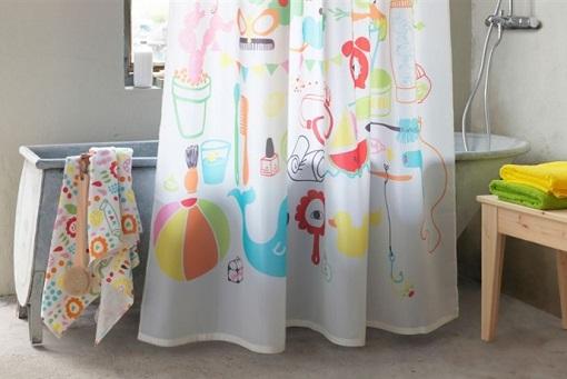 10 nuevas cortinas de ducha Ikea: alegra tu cuarto de baño - mueblesueco