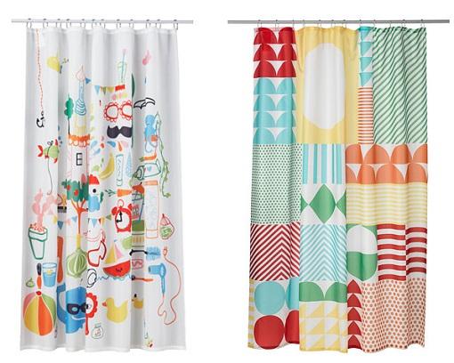 Cortina Baño Infantil:10 nuevas cortinas de ducha Ikea: alegra tu cuarto de baño