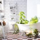 Nuevos muebles de ba o ikea armarios y otros accesorios - Estanteria escalera ikea ...