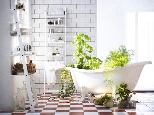 Mueble Baño Original:Estantería escalera Ikea: un mueble original y moderno – mueblesueco