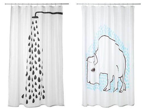 ikea cortinas baño