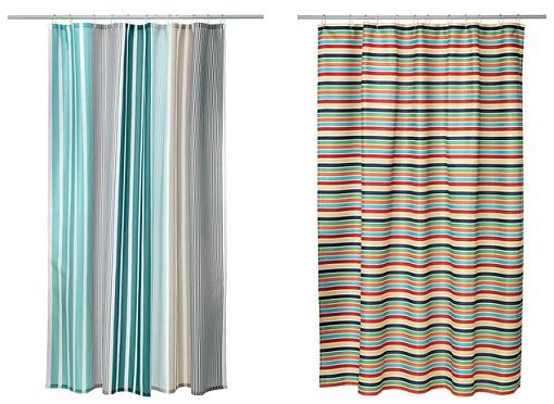 Cortinas De Baño Mas Largas:10 nuevas cortinas de ducha Ikea: alegra tu cuarto de baño