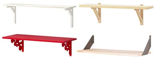Ikea repisas mueblesueco for Repisas de bano ikea