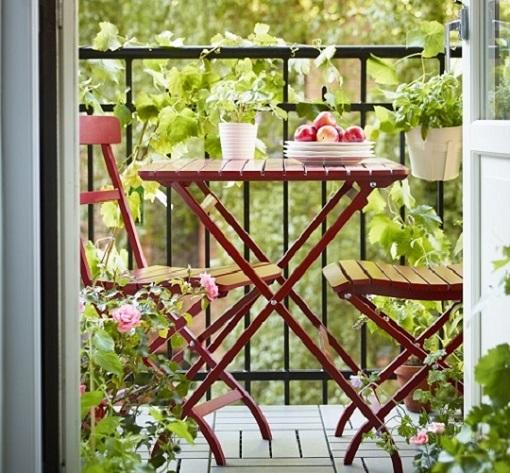 Muebles De Terraza Ikea Ideales Para Espacios Pequeños