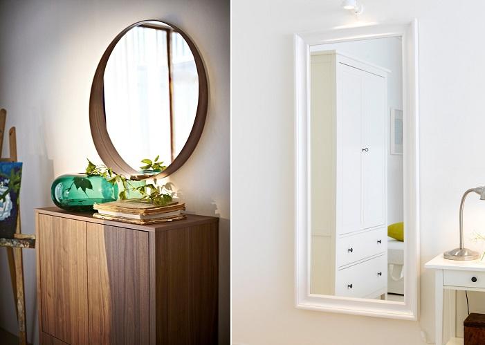 Decorar cuartos con manualidades ikea espejo de pared banorte for Conforama espejos de pared