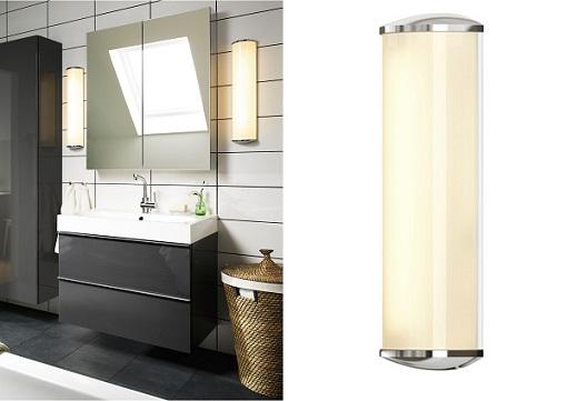 lámpara ikea de baño