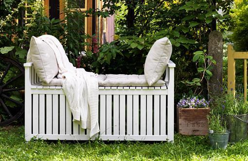 muebles terraza ikea banco