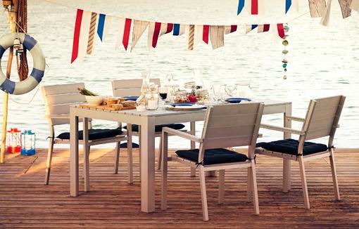 muebles exterior ikea mesas sillas
