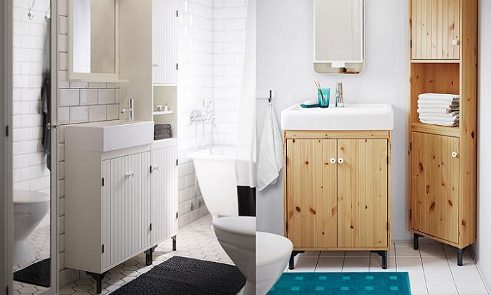 muebles lavabo ikea silveran