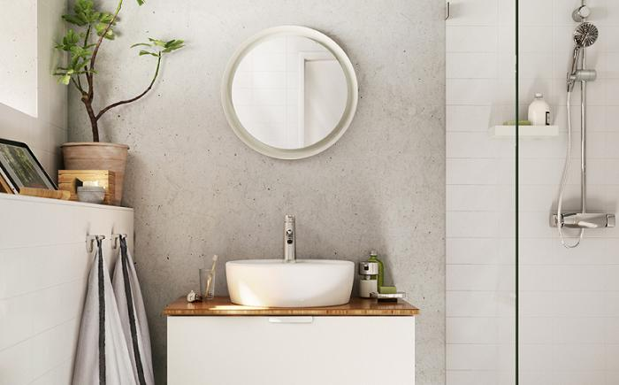 Baño Moderno Rustico:Nuevos baños Ikea 2016 del catálogo: modernos, pequeños, rústicos