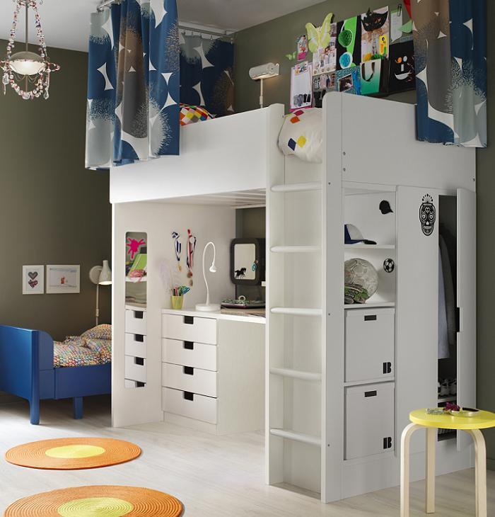 normal cortinas para habitacion infantil with ikea bebes bao