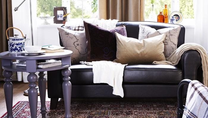 Canapé Ikea de piel