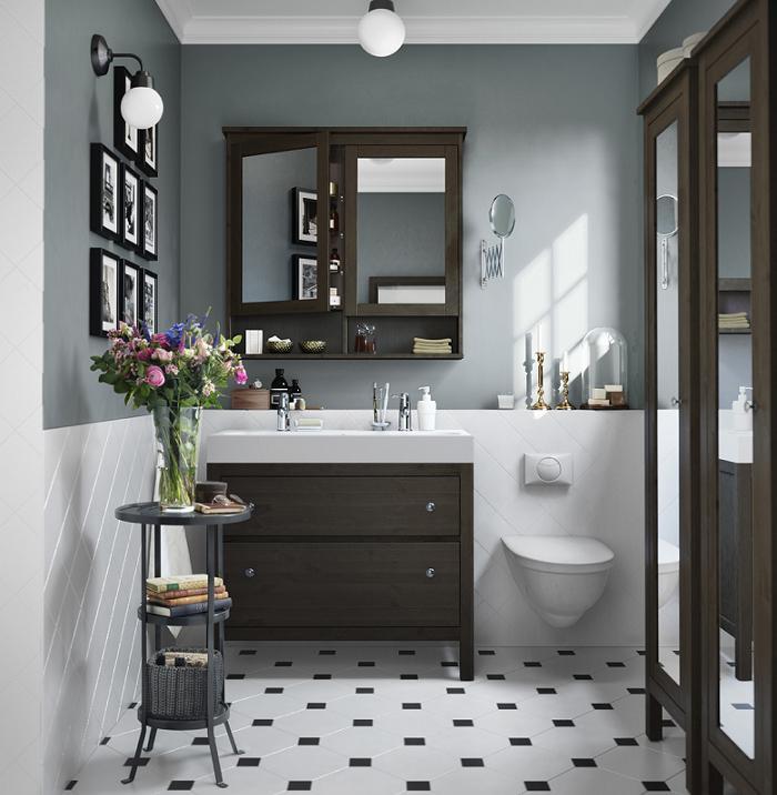 Apliques Baño Vintage:Nuevos baños Ikea 2016 del catálogo: modernos, pequeños, rústicos