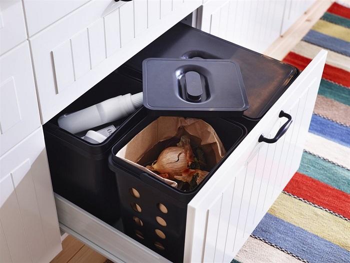 Ikea cocina basura for Cubo basura leroy merlin