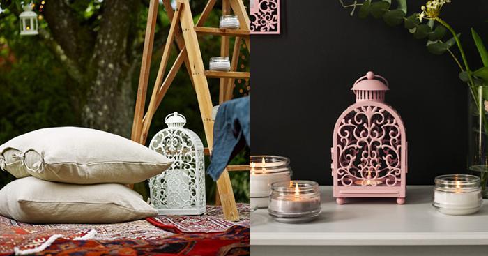 Farolillos ikea para decorar cualquier rinc n de tu jard n for Jaulas decoracion ikea