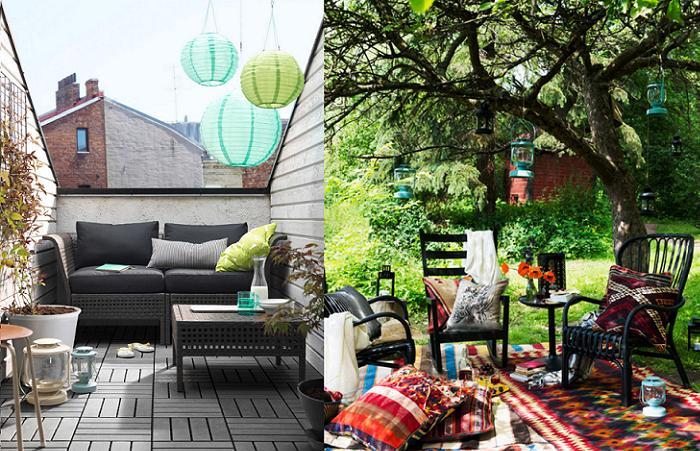 Farolillos ikea para decorar cualquier rinc n de tu jard n y casa mueblesueco - Ikea ideas jardin pau ...