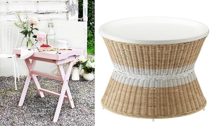 Nuevas mesas de sal n ikea de estilo moderno mueblesueco - Bandeja redonda ikea ...