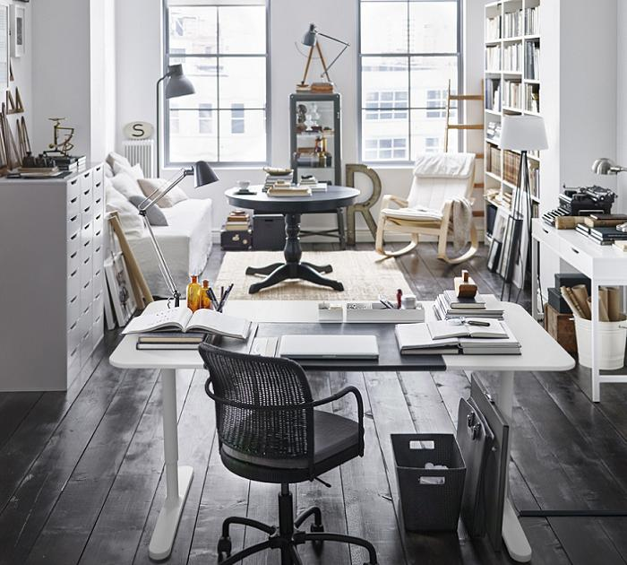 salones ikea 2016 con despacho