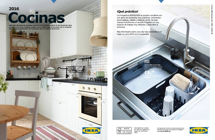 Insp rate el cat logo ikea cocinas 2016 ya est for Catalogo de ikea cocinas