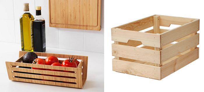caja de madera ikea excellent de las cerraduras de legler