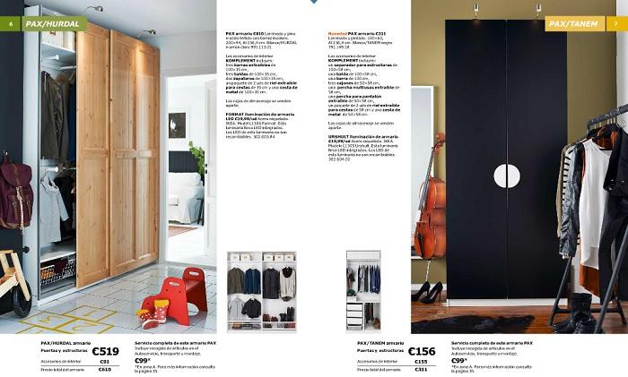 ikea catálogo armarios 2016
