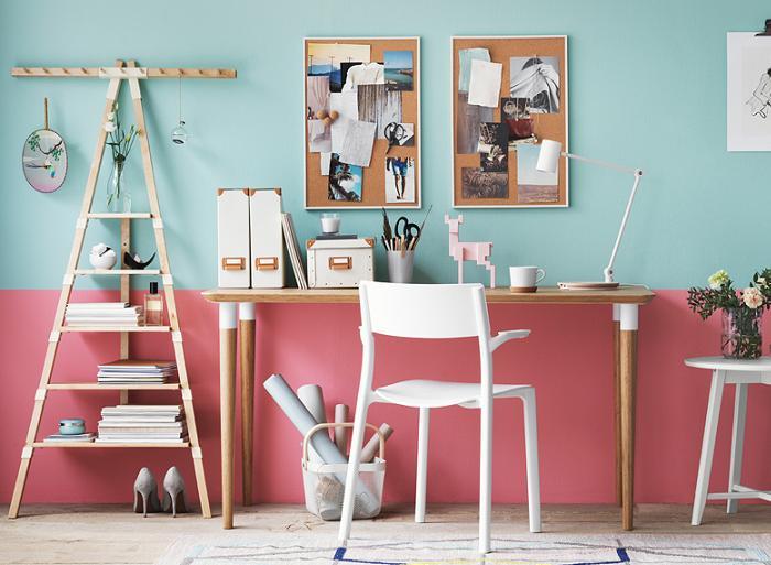 Mesas de estudio ikea juveniles mueblesueco for Mesas estudio ninos