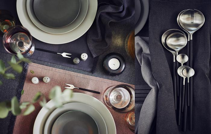 sittning ikea platos cubiertos vajilla
