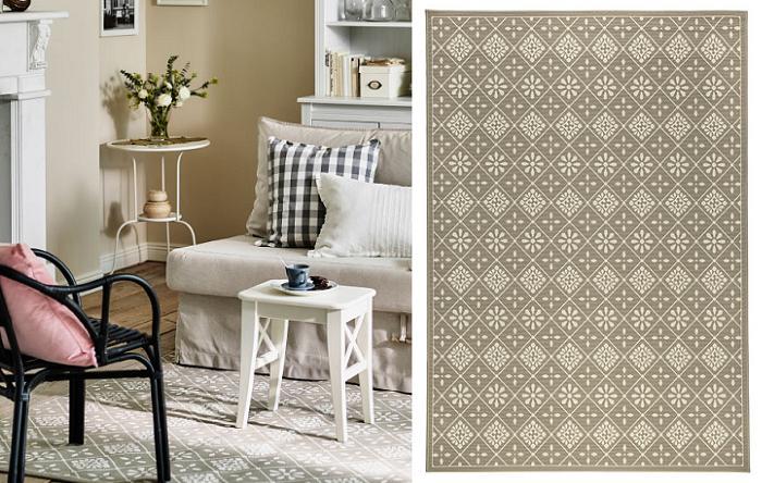 Alfombras para recibidor en esta imagen un espacio for Diferentes tipos de alfombras