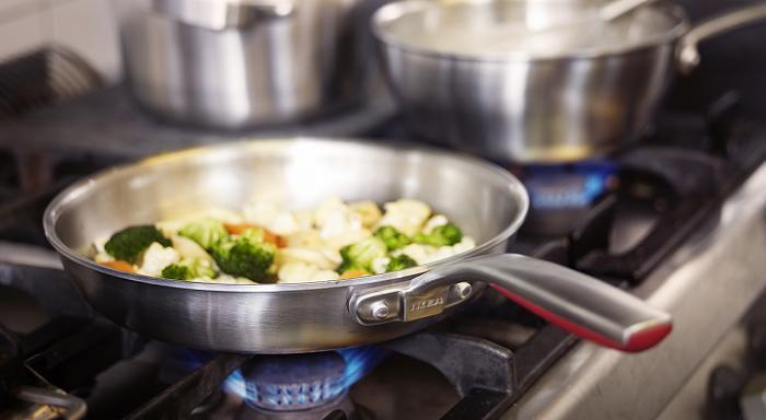 Sartenes ikea de acero inoxidable wok hierro fundido - Cocinar con wok en vitroceramica ...