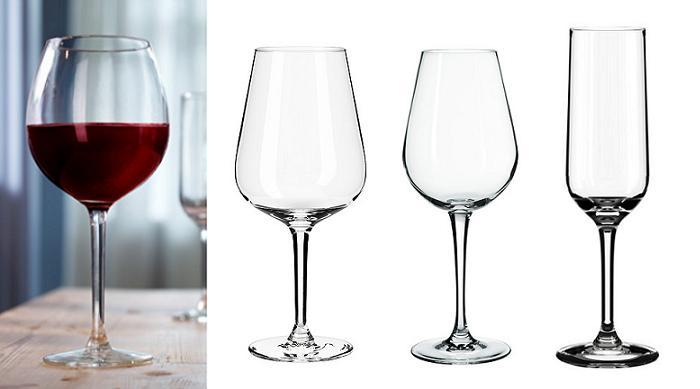 copas ikea de vino