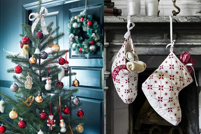 decoracion navidad ikea 2015
