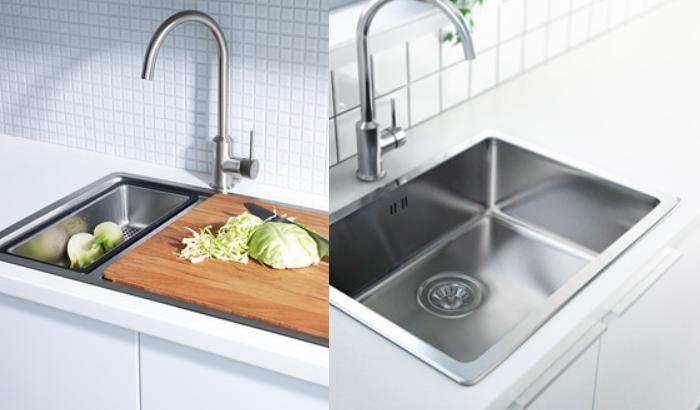 Precios de fregaderos de cocina dise os arquitect nicos for Fregaderos de porcelana para cocina