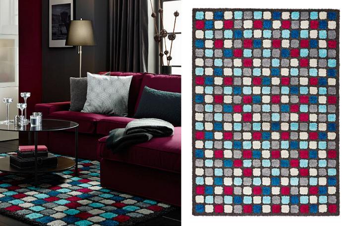 Decoracion mueble sofa ikea textiles y alfombras - Alfombras baratas ikea ...