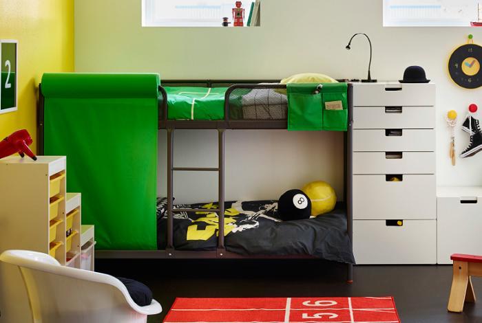 Camas rusticas de madera related keywords camas rusticas - Ikea habitaciones infantiles literas ...
