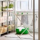 Tendedero Ikea para la colada, soluciones para colgar ropa