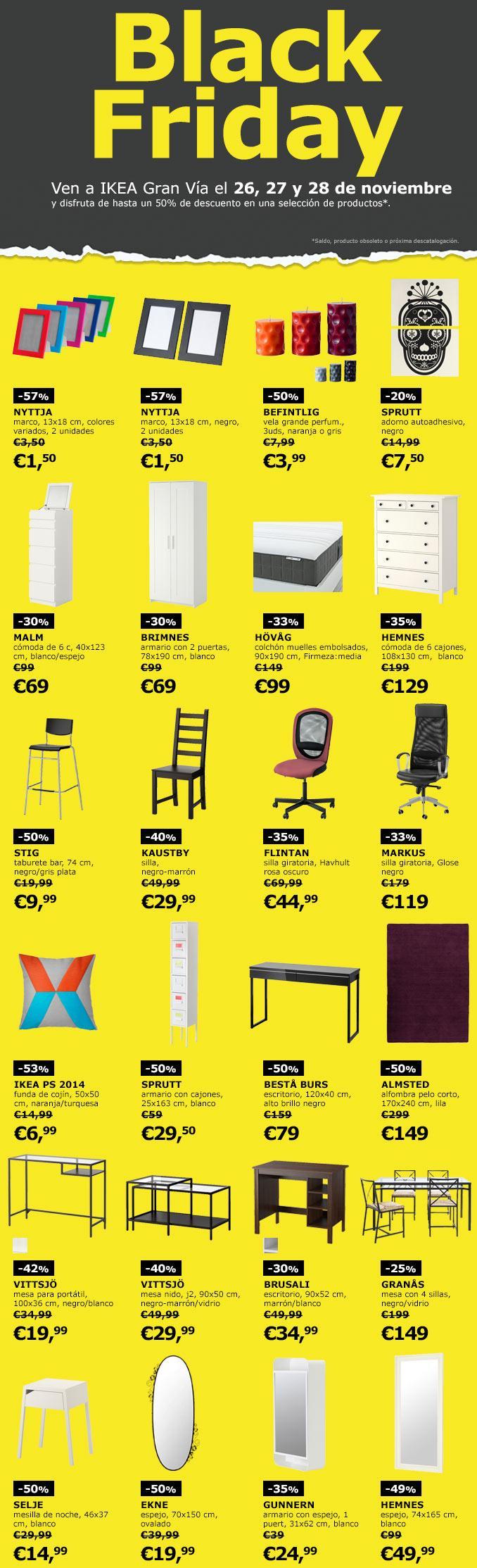 Las ofertas black friday ikea 2015 espa a empiezan el 26 - Ikea sevilla ofertas ...