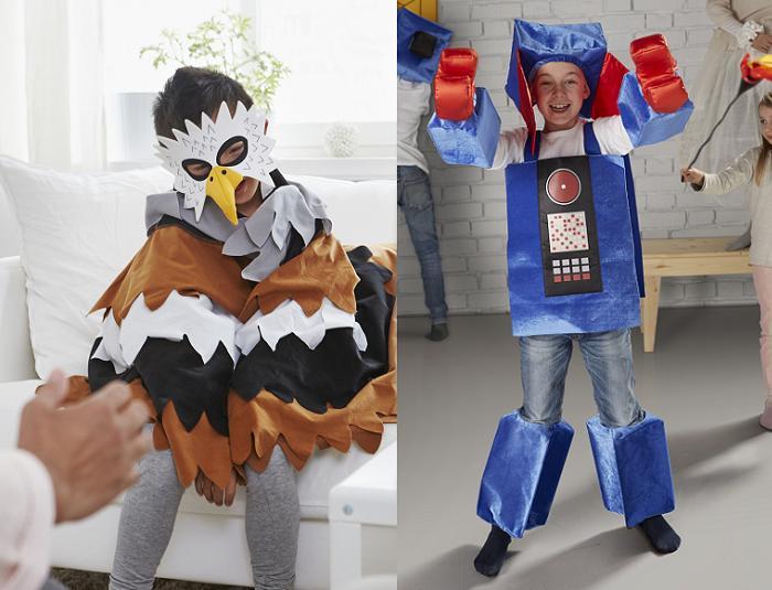 disfraces ikea para niños