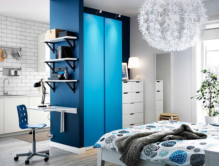 dormitorios juveniles modernos escritorio