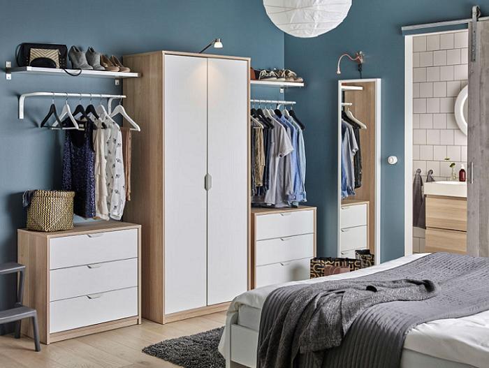 Ikea Poang Chair Oak Veneer ~ Inspiración para decorar dormitorios juveniles modernos con Ikea