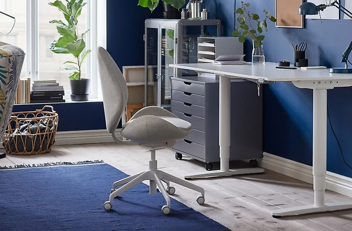 7 sillas de escritorio ikea ideales para tu despacho for Silla escritorio diseno