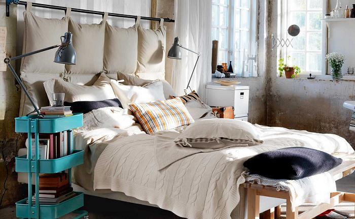 carrito ikea de mesilla de noche dormitorio