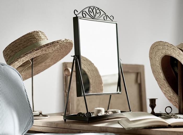 Nuevos espejos ikea para tocador y vestidor karmsund for Espejos pequenos decorativos