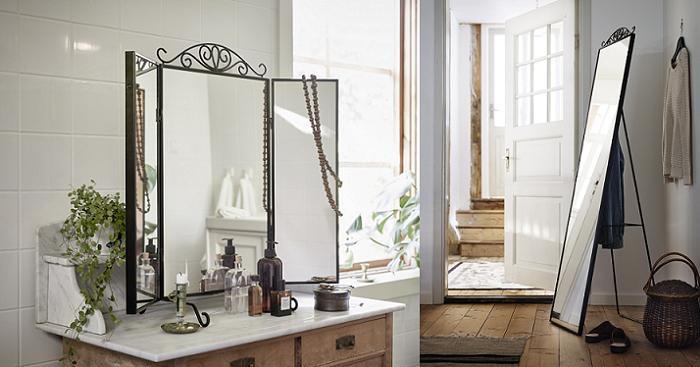 nuevos espejos ikea para tocador y vestidor karmsund